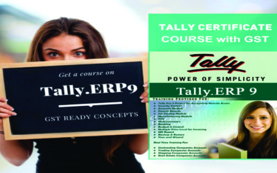 Certification Course in Tally Accounting with GST